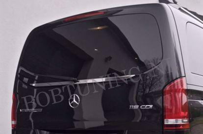Afbeeldingen van Rvs sierlijst (ondersite achterruit) Mercedes Vito W447 2014-