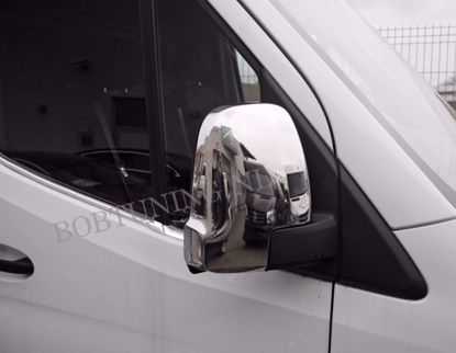 Picture of Rvs raamlijsten Mercedes sprinter w907 w910 2018-