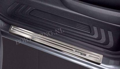 Afbeeldingen van Rvs instaplijsten Mercedes vito / v-class w447 2014-