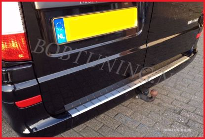 Picture of Stainless steel bumper protector mercedes vito / viano w639 2004-2014