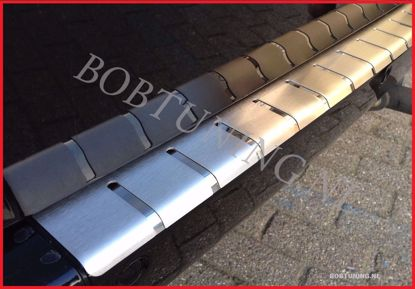 Picture of Stainless steel bumper protector Opel movano / Renault master 2010-