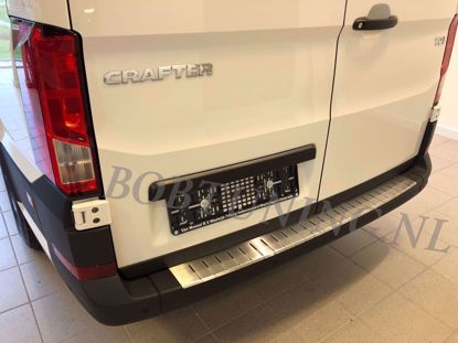 Picture of Stainless steel bumper protector Volkswagen crafter 2016-