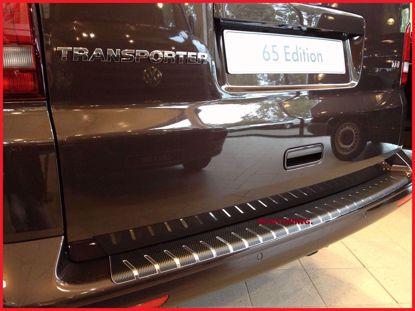 Afbeeldingen van Carbon rvs bumperbescherming Volkswagen transporter t5 multivan caravelle 2003-2015