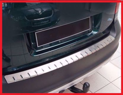 Picture of Stainless steel bumper protector Skoda yeti 2009-2013