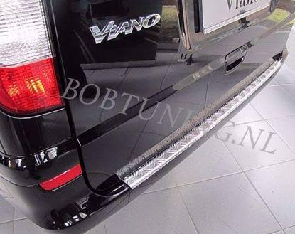 Picture of Aluminium traanplaat bumperbescherming Mercedes vito / viano w639 2004-2014