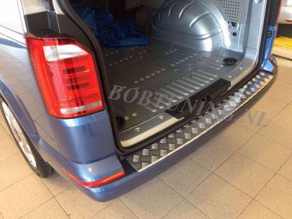 Afbeeldingen van Aluminium traanplaat bumperbescherming Volkswagen t6 transporter / t6 multivan 2015-