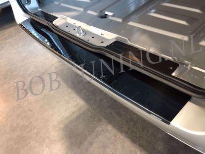 Afbeeldingen van Zwart rvs bumperbescherming Opel vivaro / Renault trafic 2001-2019