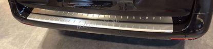 Afbeeldingen van Krasvrij rvs bumperbescherming Volkswagen Caddy 2015-2020