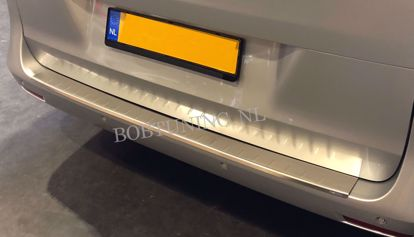 Picture of Stainless steel bumper protector opel vivaro 2001-2019