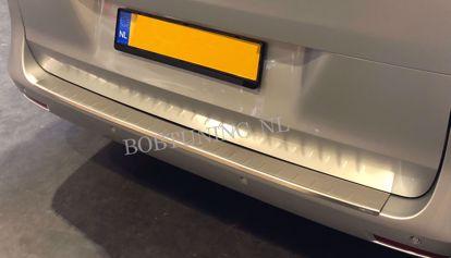 Afbeeldingen van Krasvrij rvs bumperbescherming Opel vivaro / Renault trafic 2001-2019