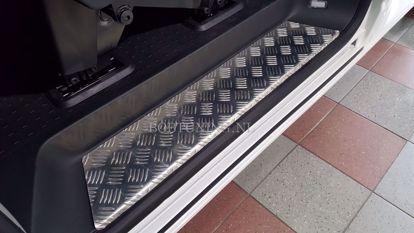 Afbeeldingen van Aluminium instaplijsten Opel combo D 2011-