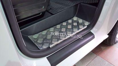 Afbeeldingen van Aluminium instaplijsten Volkswagen t4 caravelle 1990-2003