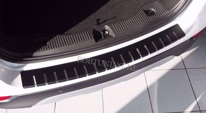 Afbeeldingen van Carbon rvs bumperbescherming Audi q5 2008-2017