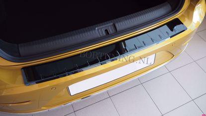 Afbeeldingen van Zwart rvs bumperbescherming Audi a4 (B8) 2008-2014