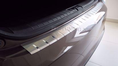 Afbeeldingen van Rvs bumperbescherming Mercedes a klasse w169 2008-2012