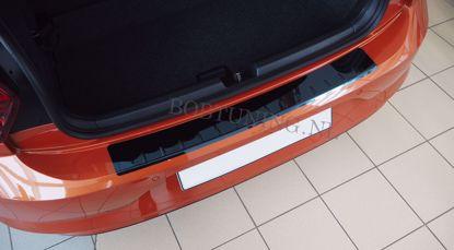 Picture of Zwart rvs bumperbescherming Chevrolet aveo (4deur) 2011-2015