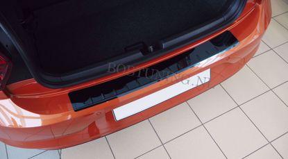 Picture of Zwart rvs bumperbescherming Chevrolet aveo (5deur) 2011-2015