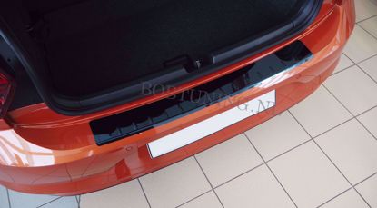 Picture of Zwart rvs bumperbescherming Chevrolet captiva 2011-2015