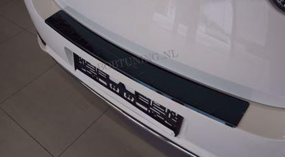 Afbeeldingen van Zwart rvs bumperbescherming Chevrolet cruze (4 deur) 2008-2012