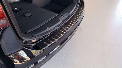 Afbeeldingen van Carbon rvs bumperbescherming Chevrolet aveo (4deur) 2006-2011