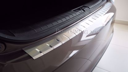Afbeeldingen van Rvs bumperbescherming Chevrolet aveo (3deur / 5deur) 2006-2011
