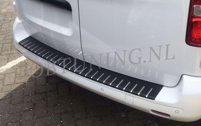 Afbeeldingen van Carbon rvs bumperbescherming Opel zafira life 08.2019-