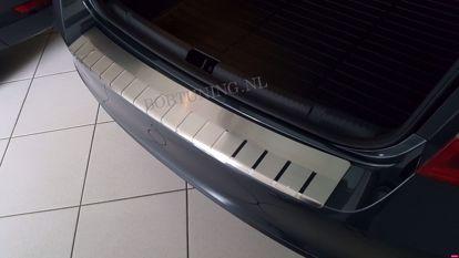 Afbeeldingen van Rvs bumperbescherming Opel insignia (kombi) 2009-2017