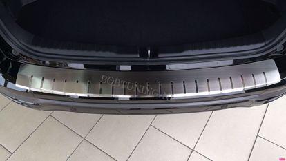 Afbeeldingen van Rvs bumperbescherming Opel astra h  (kombi) 2004-2014