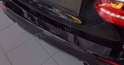 Picture of Carbon fiber bumperbescherming Mercedes e-klasse s213 2016-