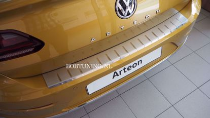 Afbeeldingen van Rvs bumperbescherming Volkswagen arteon 2017-