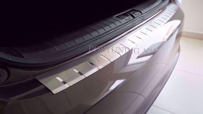 Afbeeldingen van Rvs bumperbescherming Volkswagen passat b6 (4 deur) 2005-2010
