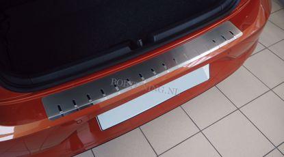 Afbeeldingen van Rvs bumperbescherming Volkswagen polo (4 deur) 2009-2014