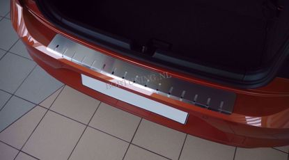 Afbeeldingen van Rvs bumperbescherming Volkswagen polo (5 deur) 2009-2014