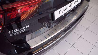 Afbeeldingen van Rvs bumperbescherming Volkswagen Tiguan | Tiguan Allspace 2016+
