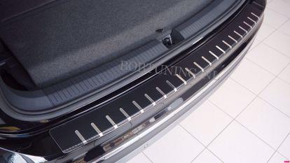 Picture of Carbon rvs bumperbescherming Volkswagen passat b7 (4 deur) 2010-2014