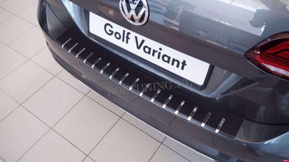 Picture of Carbon rvs bumperbescherming Volkswagen golf 7 (kombi) 2013-2019