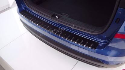 Afbeeldingen van Carbon rvs bumperbescherming Volkswagen golf 6 (3 / 5 deur) 2008-2012