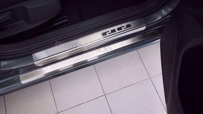 Afbeeldingen van Rvs instaplijsten Volkswagen golf 6 (5deur) 2008-2012