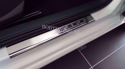 Afbeeldingen van Rvs instaplijsten Volkswagen polo (3deur) 2001-2009