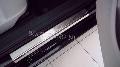 Afbeeldingen van Rvs instaplijsten Peugeot 206 (5deur) 1998-2009