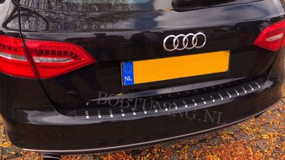 Picture of Carbon rvs bumperbescherming Audi a4 (B8) 2008-2014