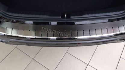 Afbeeldingen van Rvs bumperbescherming Toyota Auris (kombi) 2015-