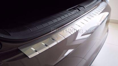 Afbeeldingen van Rvs bumperbescherming Nissan qashqai +2 2008-2013