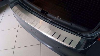 Afbeeldingen van Rvs bumperbescherming Hyundai i40 (kombi) 2012-2019