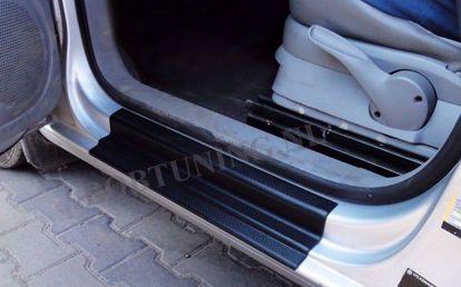 Afbeeldingen van Kunststof instaplijsten Volkswagen Caddy 2010-2014