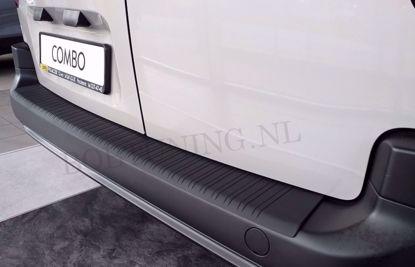 Afbeeldingen van Kunststof bumperbescherming Opel combo 2018-
