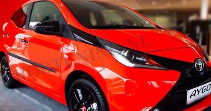 Afbeeldingen van Stootlijsten Toyota Aygo (5deur) 2014-