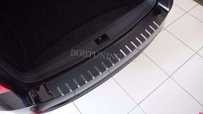 Afbeeldingen van Carbon rvs bumperbescherming Honda civic (kombi) 2014-2016