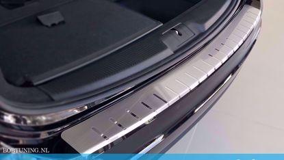Afbeeldingen van Rvs bumperbescherming Ford focus (kombi) 2011-2018