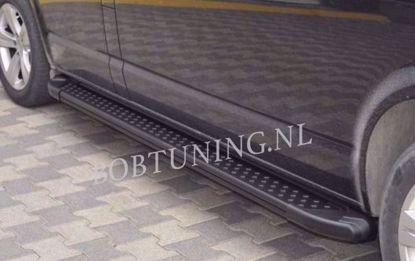 Afbeeldingen van Sidesteps Zwart Aluminium Mercedes vito w447 2014-2018